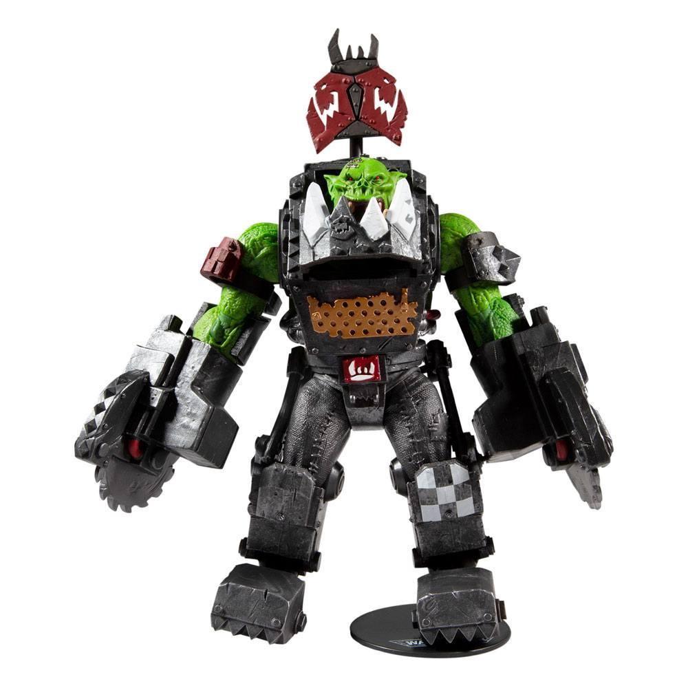 Warhammer 40k Action Figure Ork Meganob with Buzzsaw 30 cm