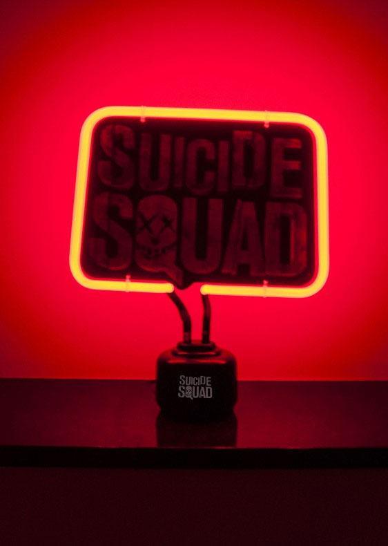 Suicide Squad Neon Light Logo 33 x 20 cm