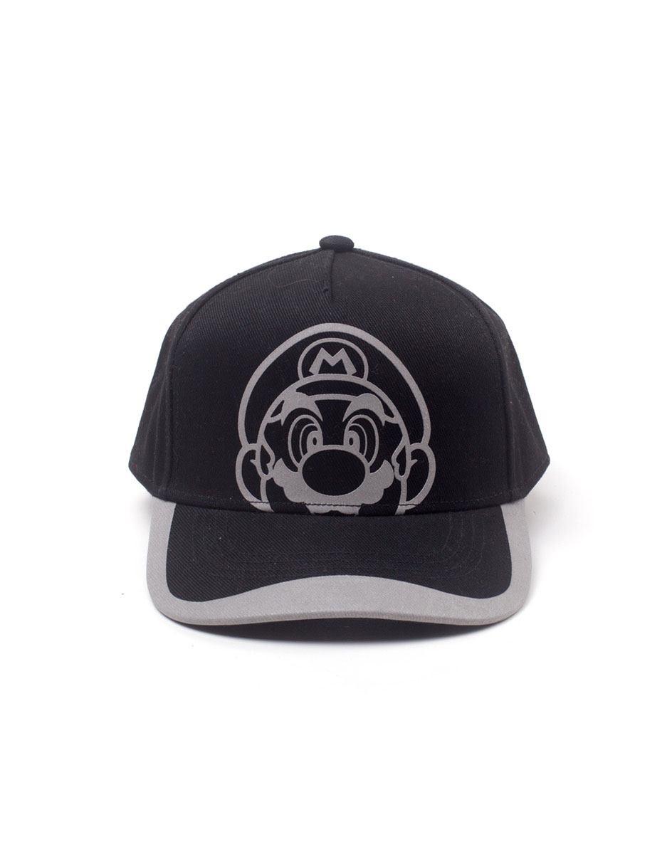 Nintendo Baseball Cap Super Mario Reflective Print