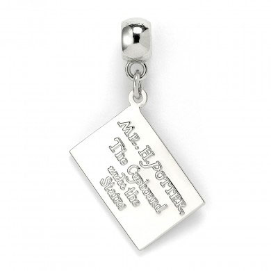 Harry Potter Charm Hogwarts Acceptance Letter (silver plated)