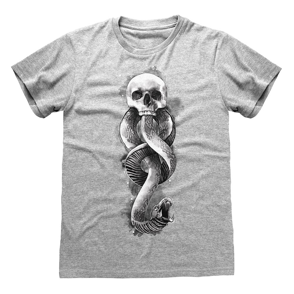 Harry Potter T-Shirt Dark Arts Snake Size L