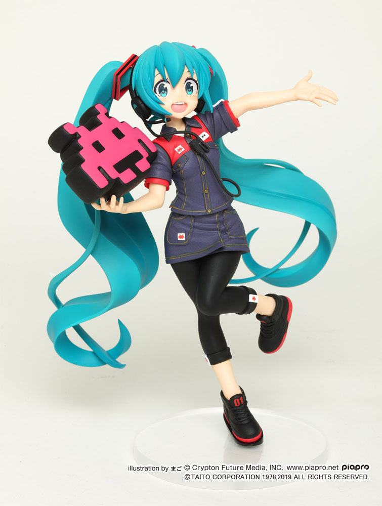 Vocaloid PVC Statue Hatsune Miku Taito Uniform Version 2 18 cm