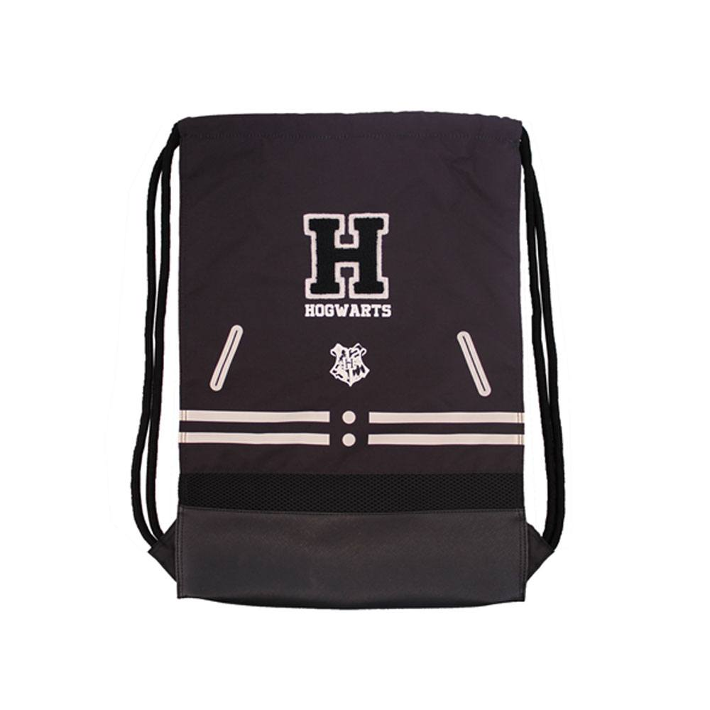 Harry Potter Gym Bag Hogwarts Black