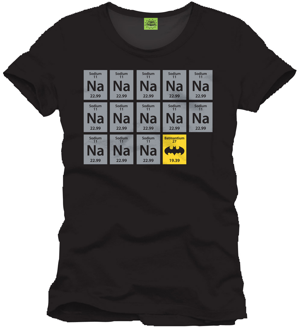 Batman T-Shirt Chemistry Size XL