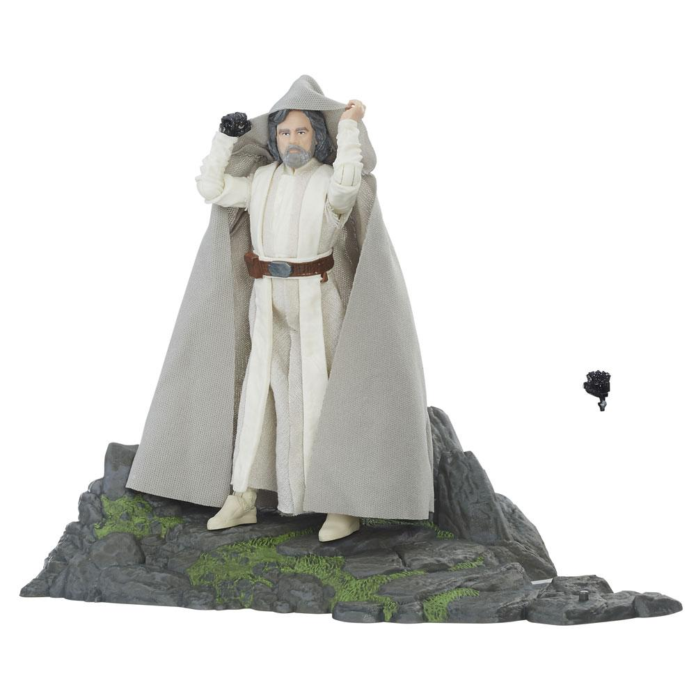 Star Wars Episode VII Black Series Deluxe Action Figure 2017 Luke Skywalker Ahch-To Island 15 cm
