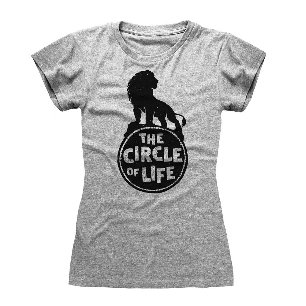 The Lion King Ladies T-Shirt Circle Of Life Size S