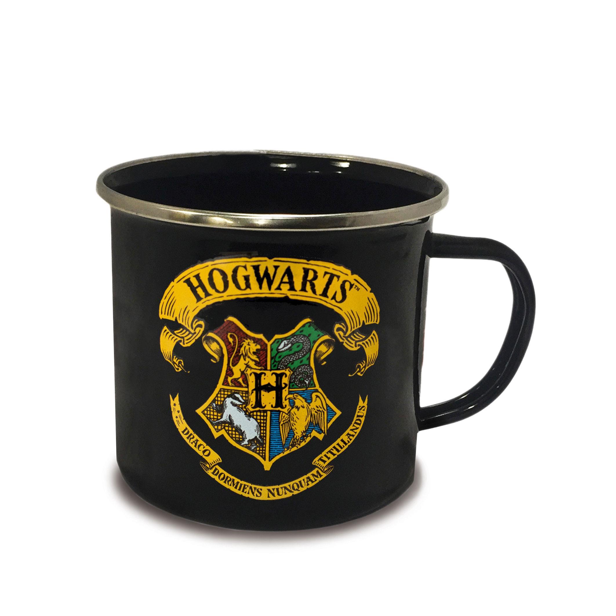 Harry Potter Enamel Mug Hogwarts Logo