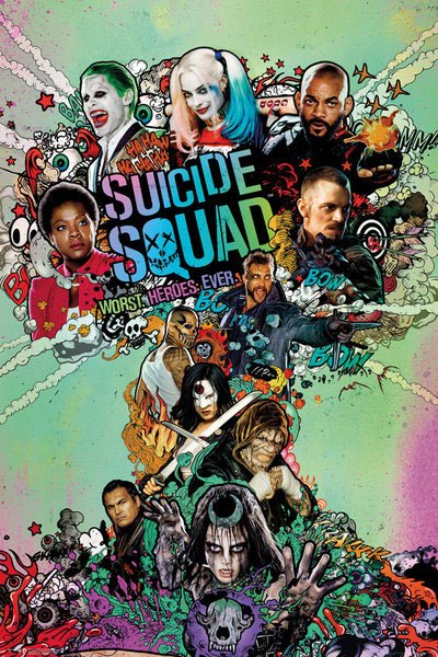 Suicide Squad Poster Pack One Sheet 61 x 91 cm (5)
