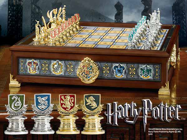 Harry Potter - Hogwarts Houses Quidditch Chess