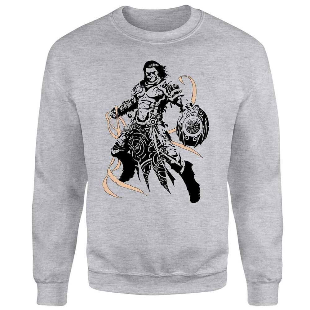 Magic the Gathering Sweatshirt Gideon Character Art Size L