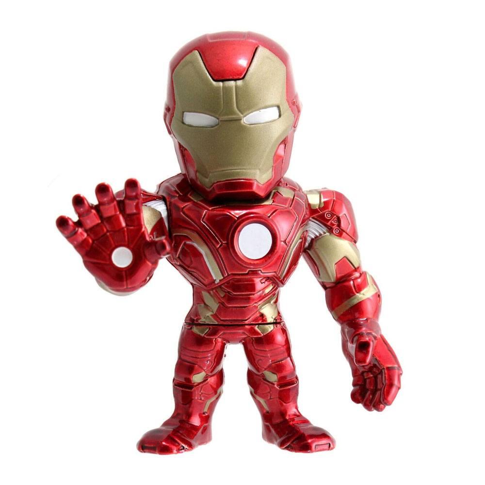 Marvel Metals Diecast Mini Figure Iron Man 10 cm