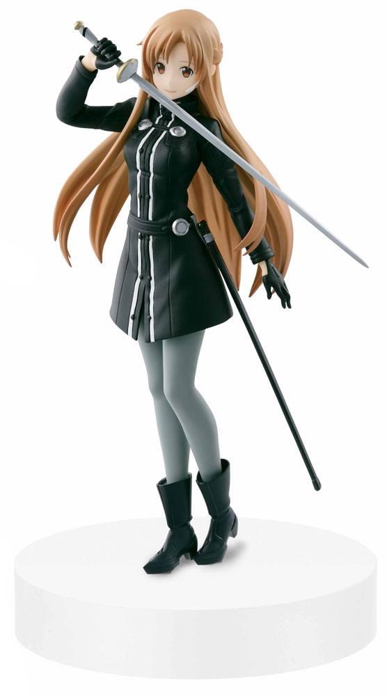 Sword Art Online Ordinal Scale DXF Figure Asuna Black Swordswoman Ver. 17 cm