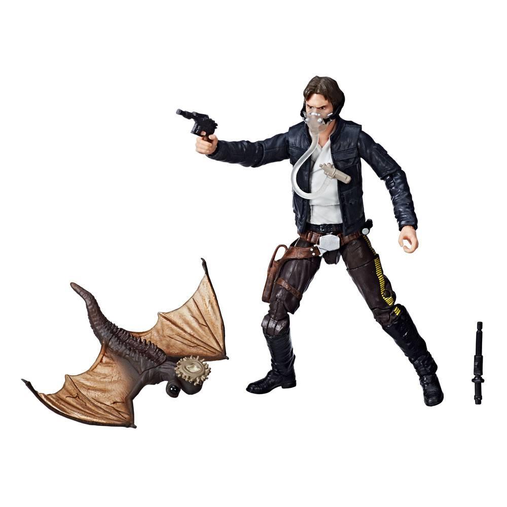 Star Wars Episode V Black Series Action Figure 2018 Han Solo Exogorth Escape Exclusive 15 cm --- DAMAGED PACKAGING