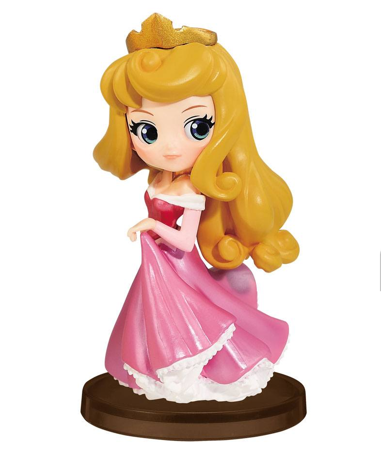Disney Q Posket Petit Girls Festival Mini Figure Aurora 7 cm