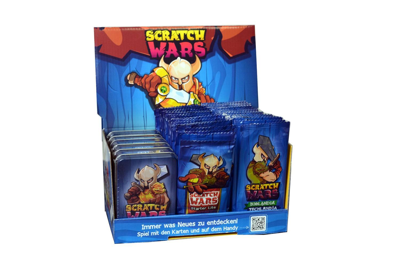 Scratch Wars Trading Card Game Display *German Version*