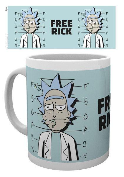 Rick and Morty Mug Free Rick