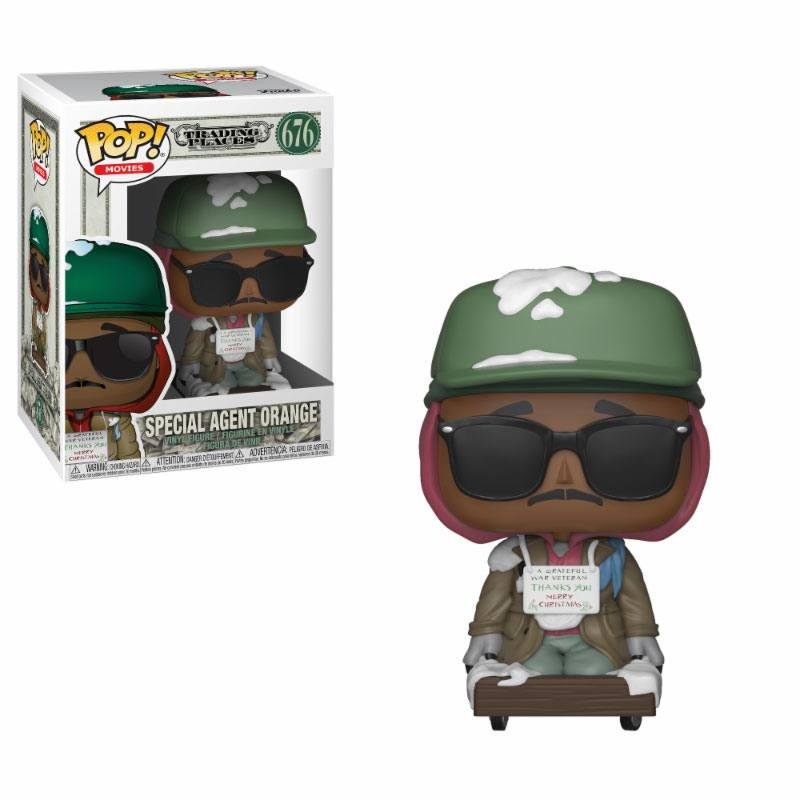 Trading Places POP! Movies Vinyl Figure Billy Ray on Cart 9 cm