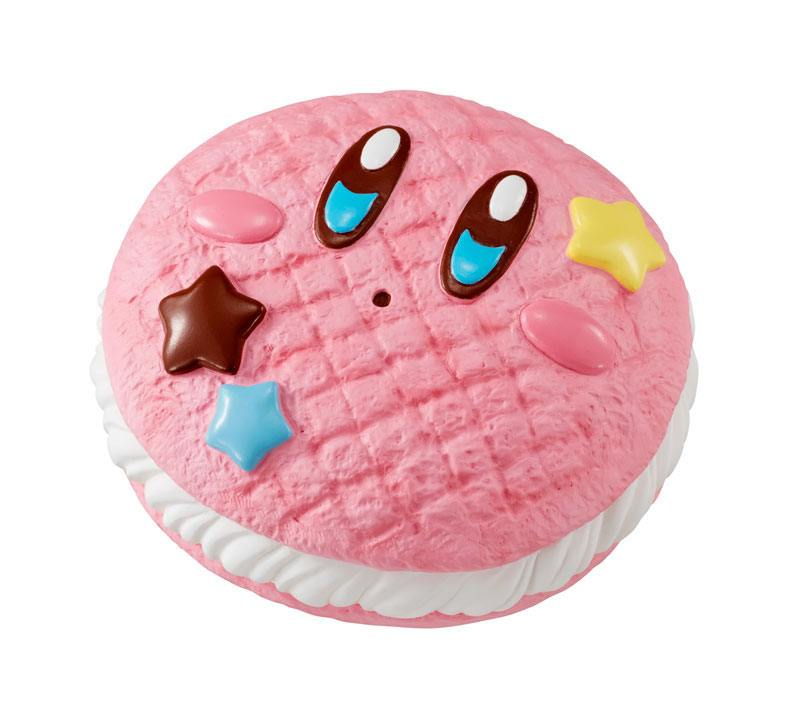 Kirby Super Star Donut Shop Squeeze Anti-Stress Figure Kirby Cream Sand 8 cm