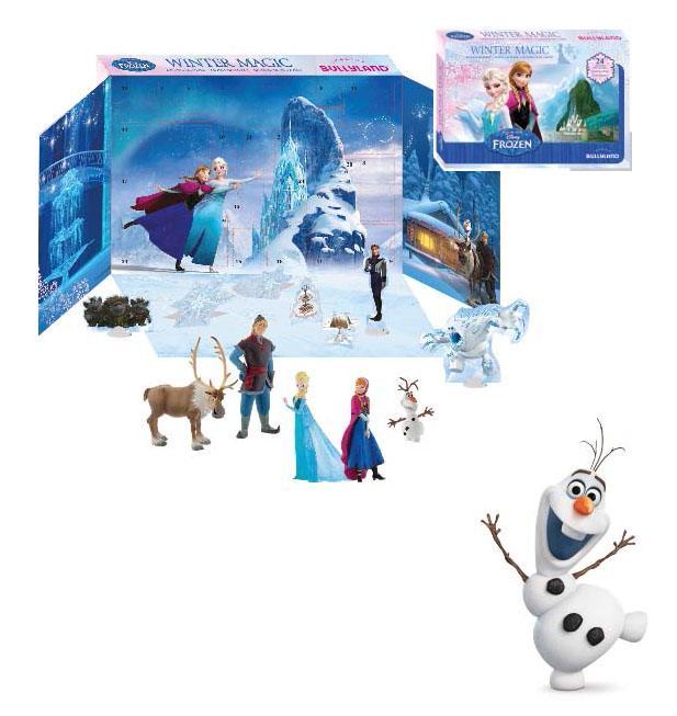 Frozen Advent Calendar Winter Magic