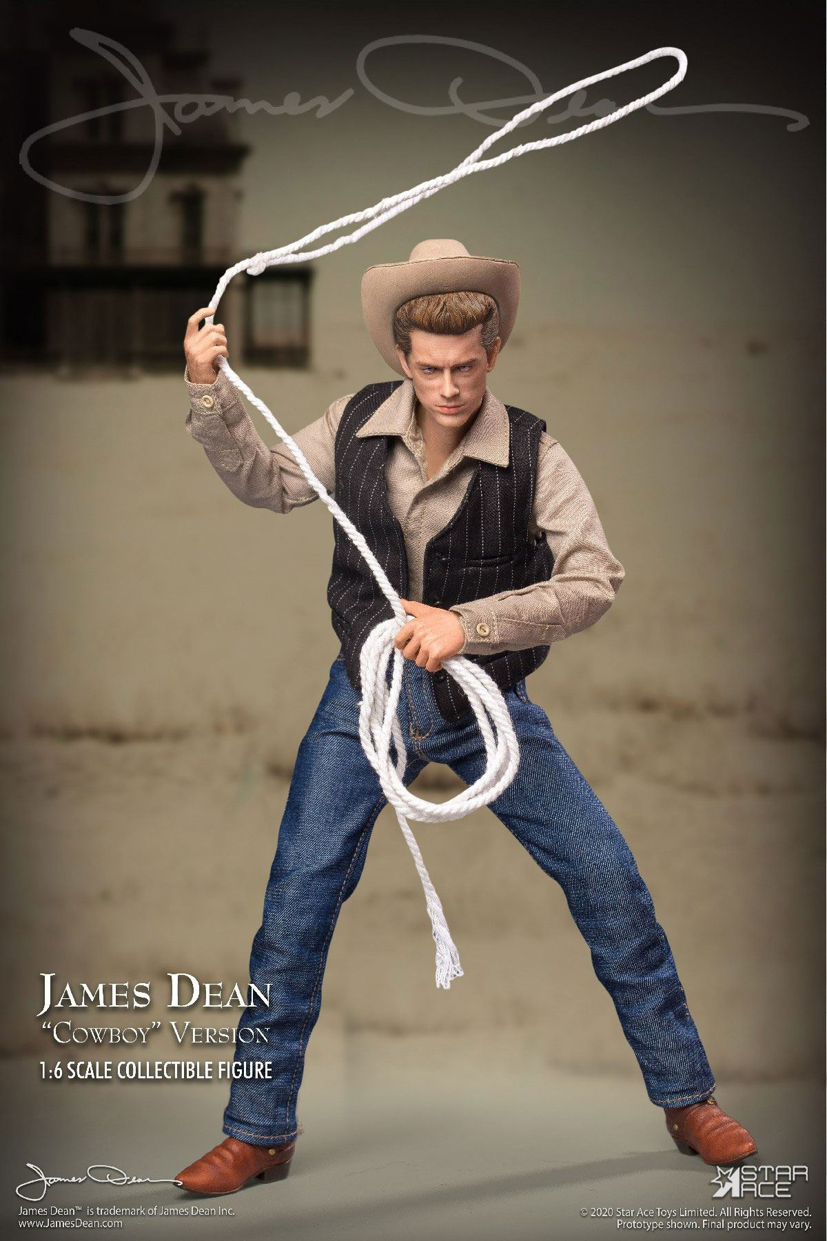 James Dean Action Figure 1/6 James Dean Cowboy Ver. 30 cm