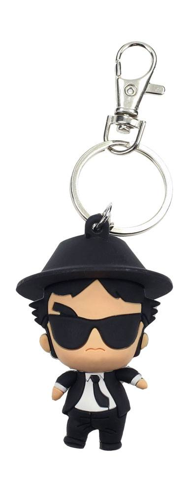 Blues Brothers Pokis Rubber Keychain Jake 6 cm