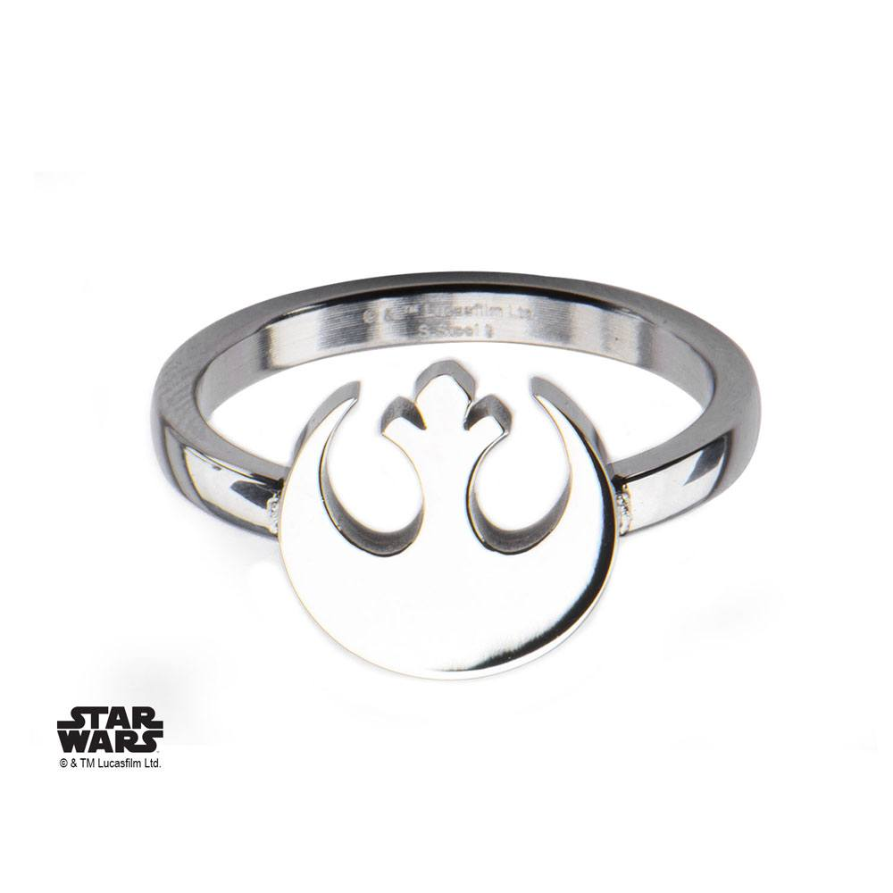 Star Wars Ring Rebel Alliance Symbol  Size 06