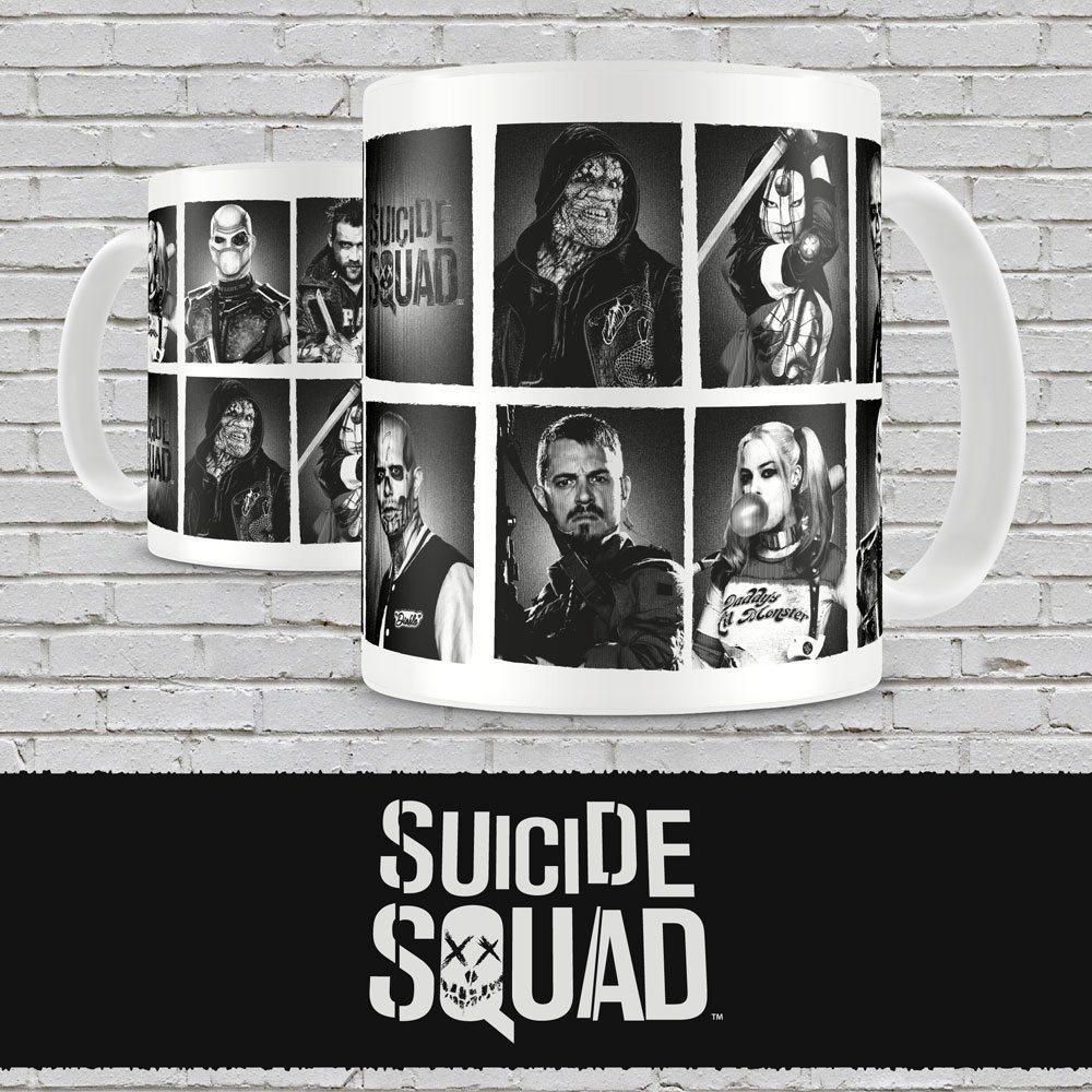 Suicide Squad Mug Characters