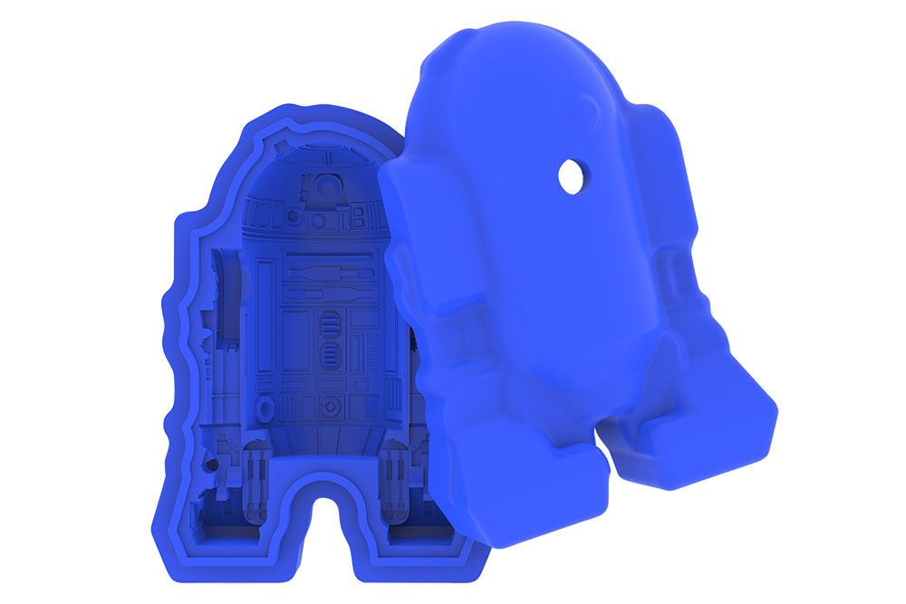 Star Wars Episode VII Silicone Tray R2-D2 --- DAMAGED PACKAGING