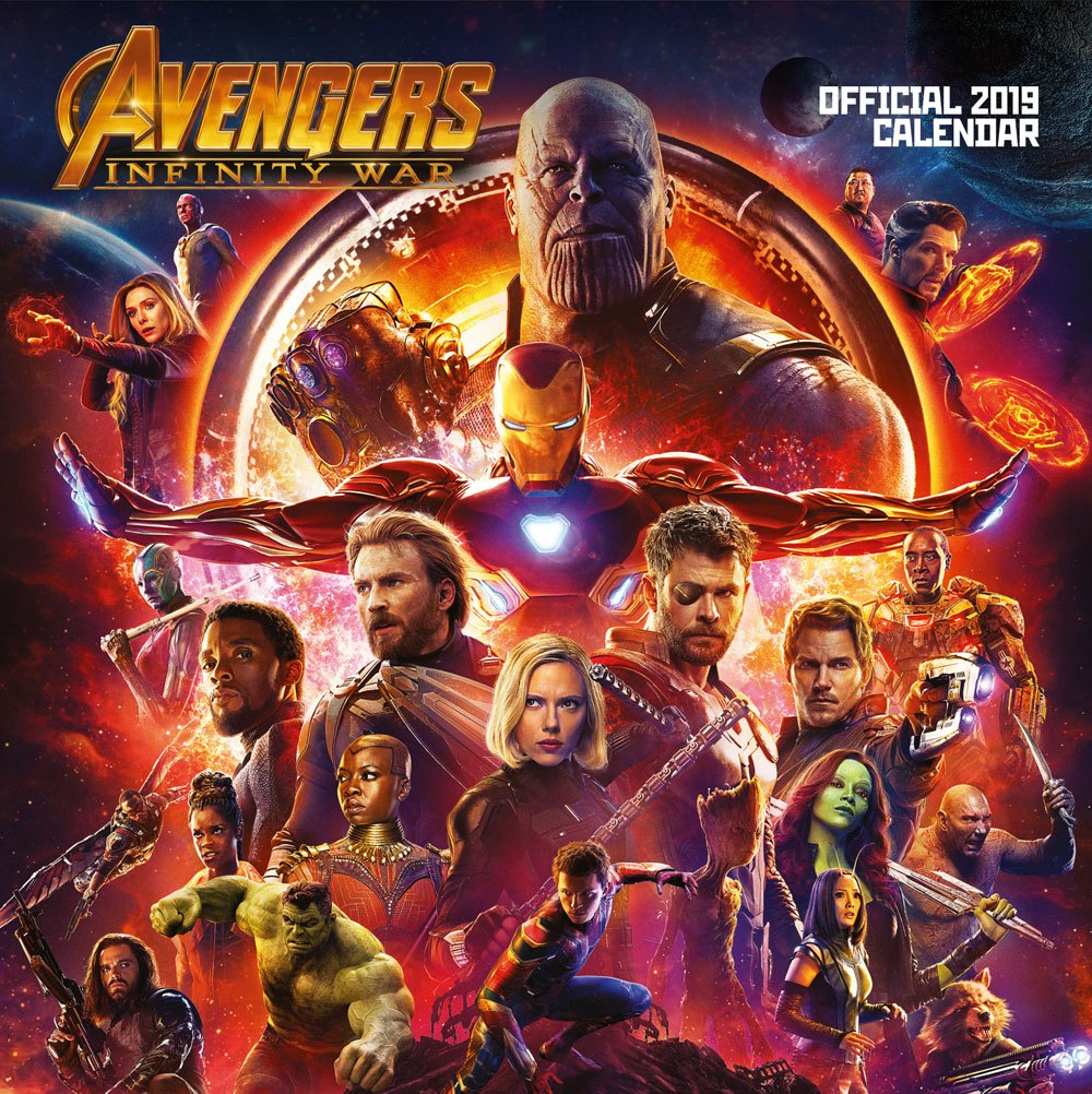Avengers Infinity War Calendar 2019 English Version*