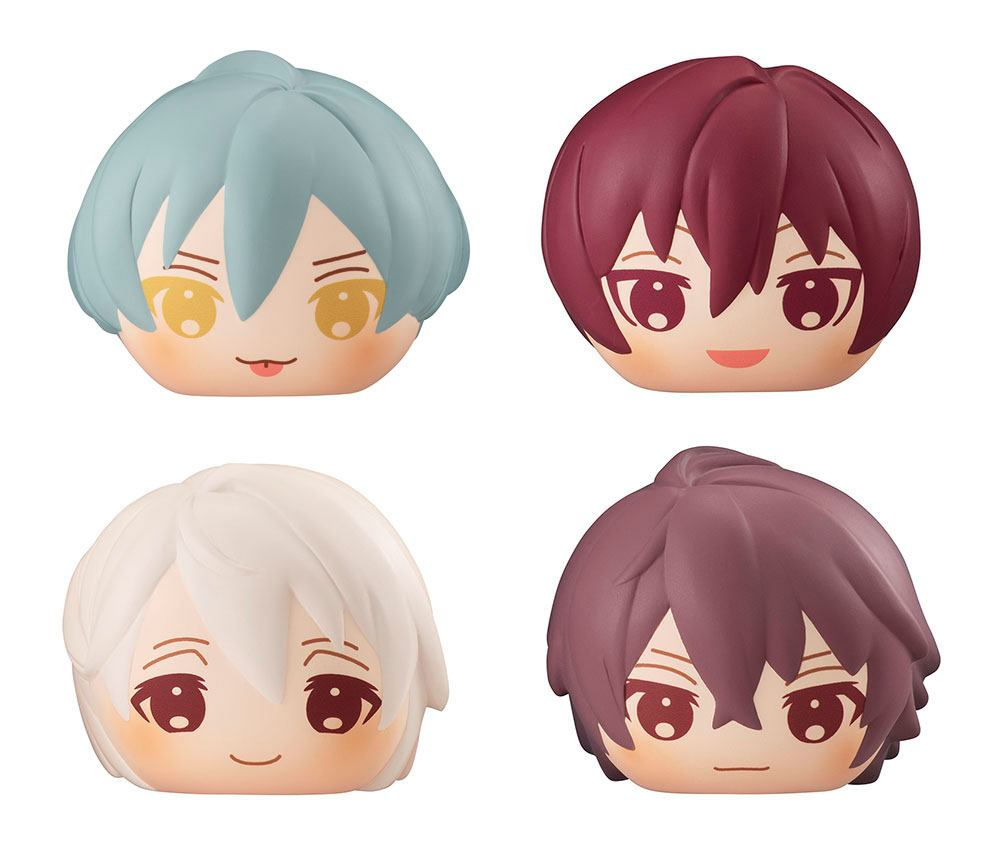 Idolish7 Fluffy Squeeze Bread Anti-Stress Figures 8 cm Assortment Seven Zool Box (5)