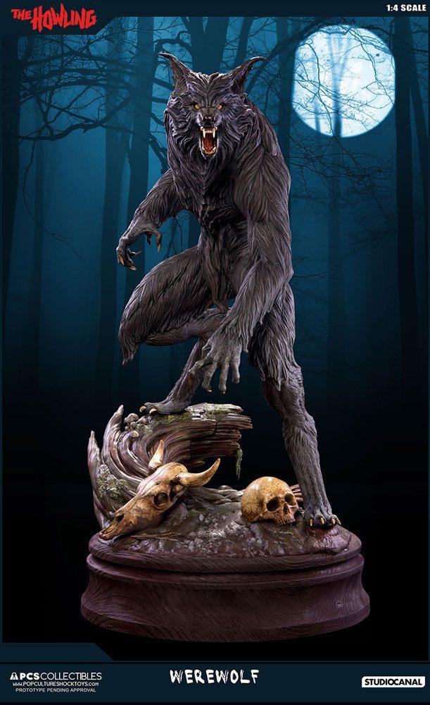 The Howling Statue 1/4 Werewolf 61 cm
