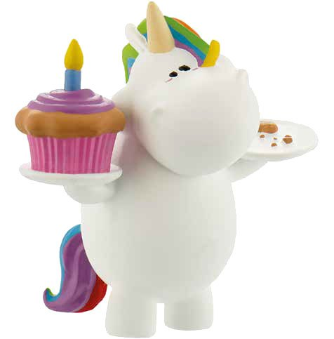 Chubby Unicorn Figure Birthday-Chubby 6 cm