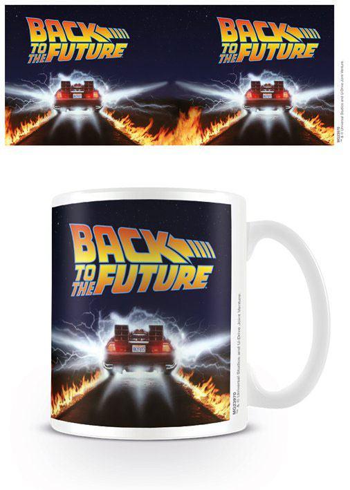 Back to the Future Mug DeLorean