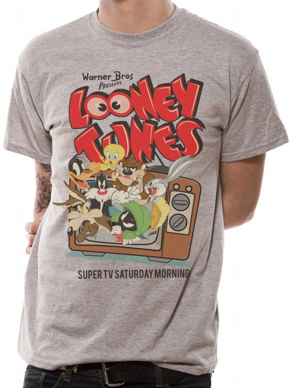 Looney Tunes T-Shirt Retro TV Size M