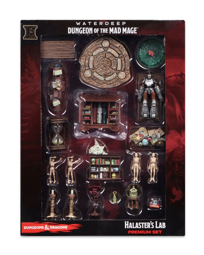 D&D IotR: Waterdeep: Dungeon of the Mad Mage Booster Brick Case (32) + Halaster's Lab Premium Set