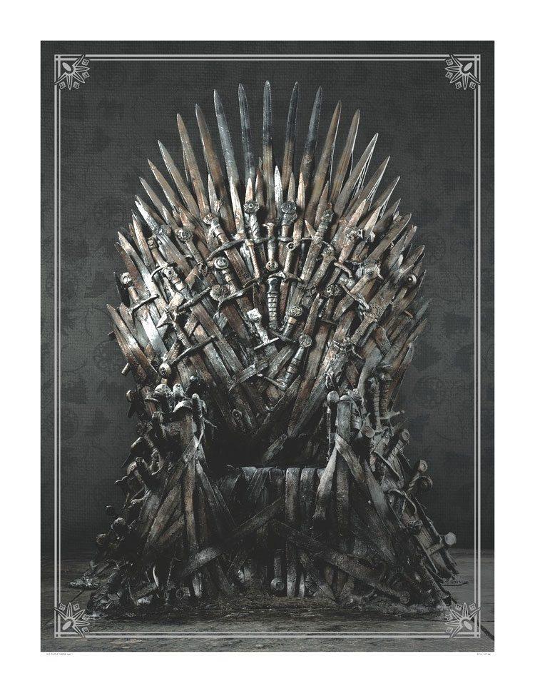 Game of Thrones Puzzle Iron Throne