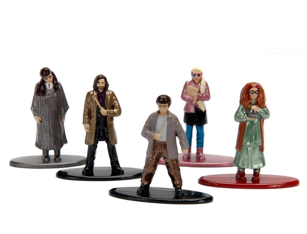 Harry Potter Nano Metalfigs Diecast Mini Figures 5-Pack Wave 3 4 cm