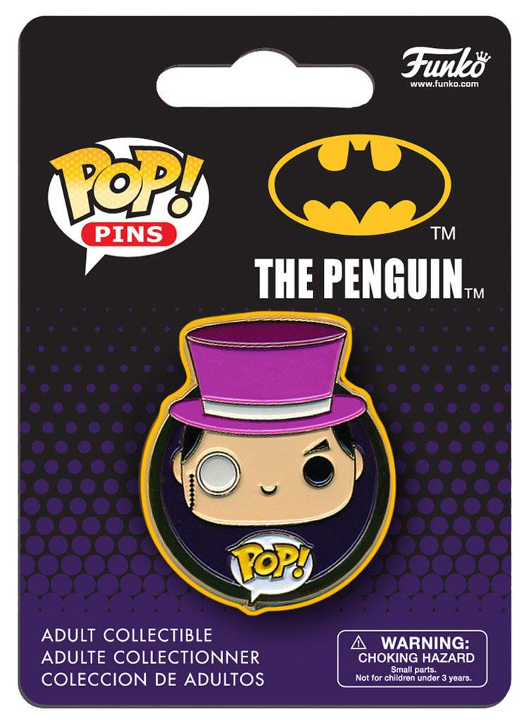 DC Universe POP! Pin Badge The Penguin