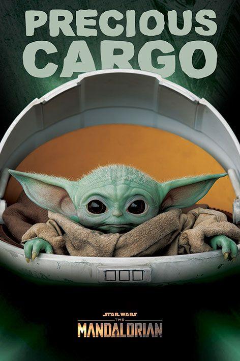 Star Wars The Mandalorian Poster Pack Precious Cargo 61 x 91 cm (5)