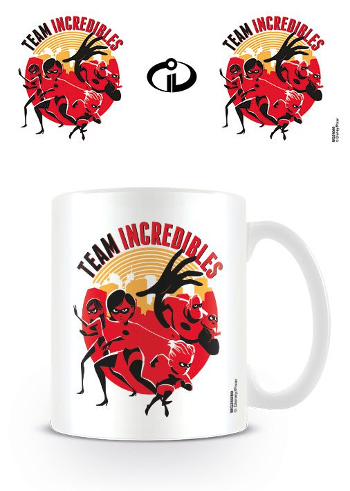 The Incredibles 2 Mug Team Incredibles