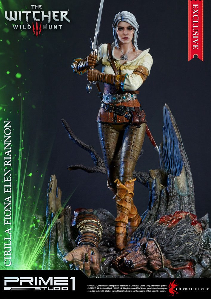 Witcher 3 Wild Hunt Statues Ciri & Ciri Exclusive 69 cm Assortment (3)