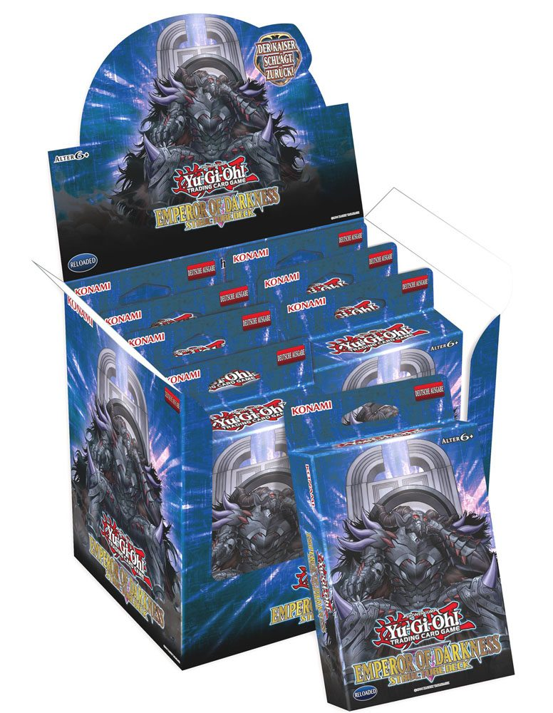 Yu-Gi-Oh! Structure Deck Emperor of Darkness Display (8)  *GERMAN*