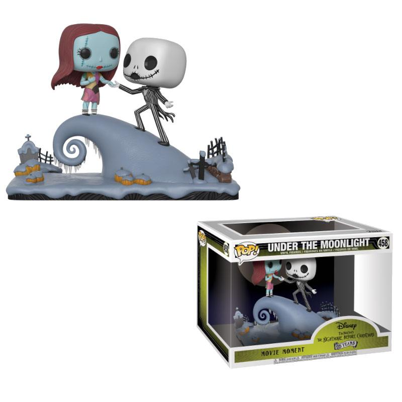 Nightmare before Christmas POP! Movie Moments Vinyl Bobble-Head 2-Pack Jack & Sally 9 cm