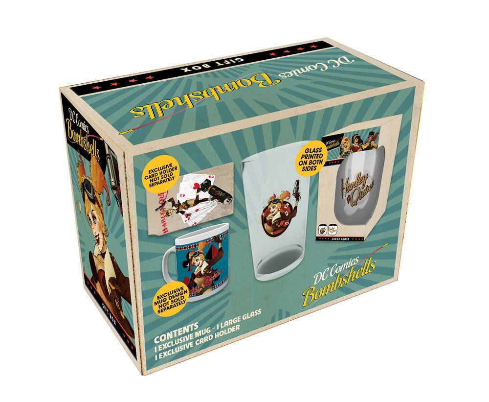 DC Comics DC Bombshells Gift Box Harley Quinn