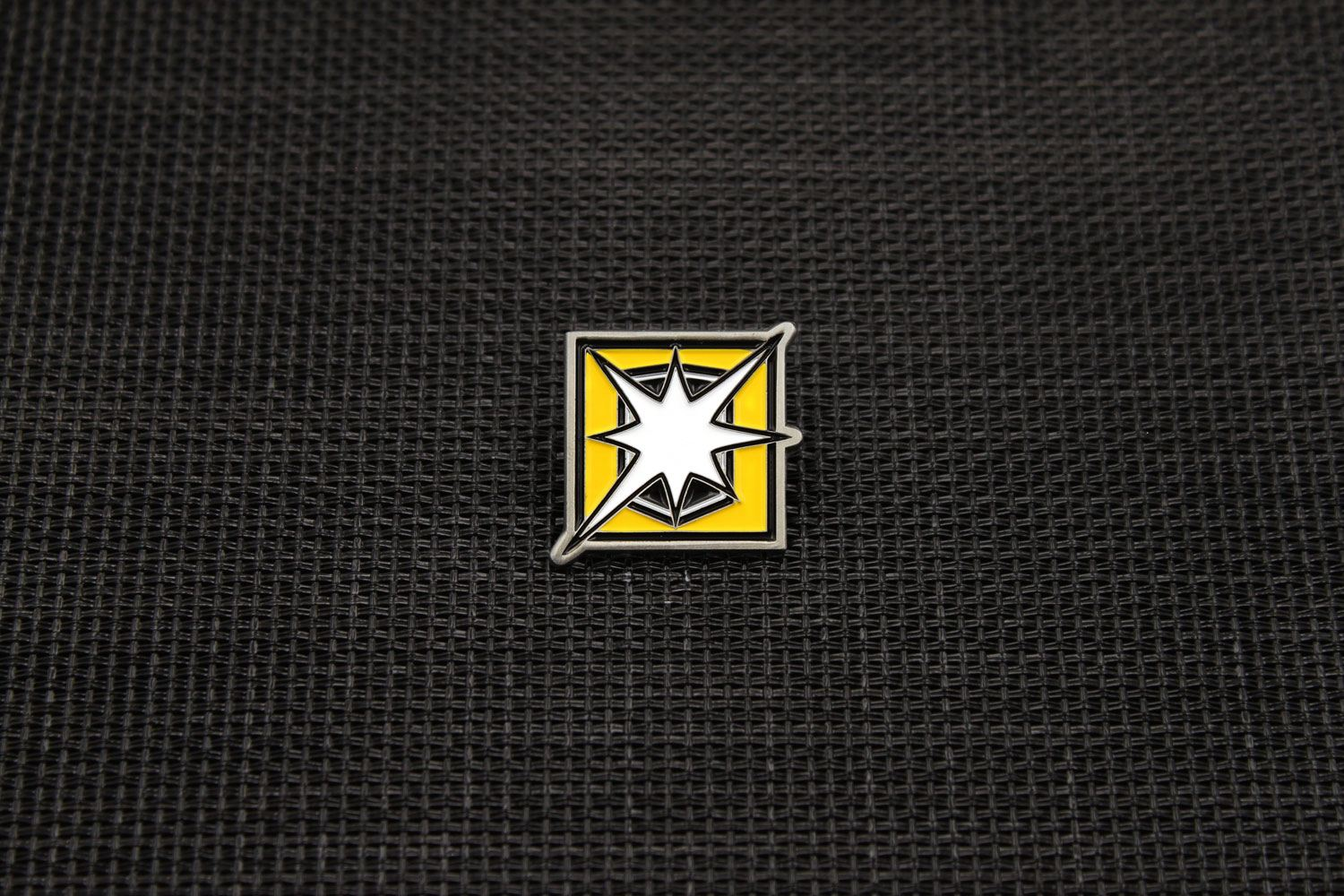 Six Collection Pin Badge Operator Icon Blitz