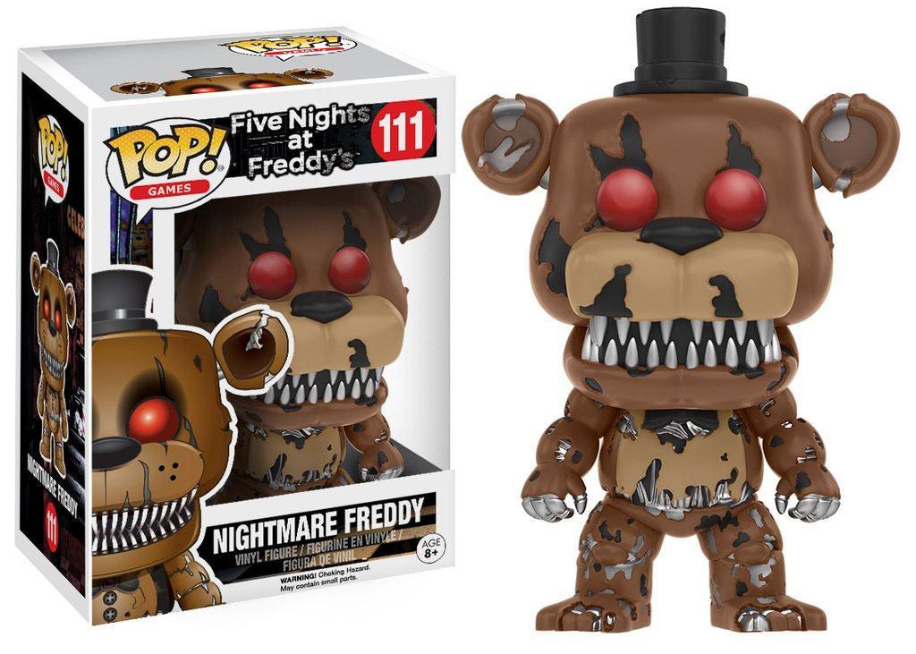 Five Nights at Freddy's POP! Games Vinyl Figure Nightmare Freddy 9 cm