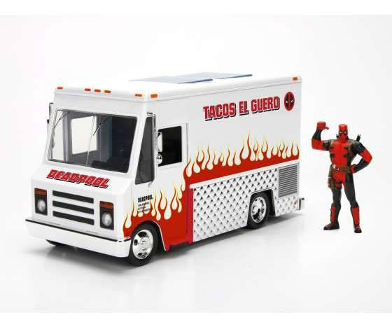 Deadpool Diecast Model 1/24 Deadpool Taco Truck