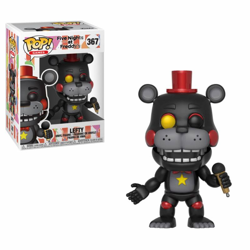 Five Nights at Freddy's Pizza Simulator POP! Games Vinyl Figure Lefty 9 cm