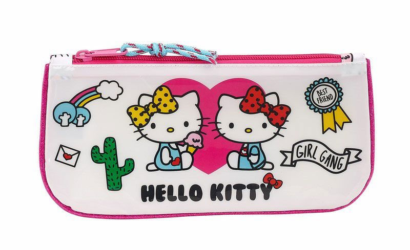 Hello Kitty Pencil Case Girl Gang