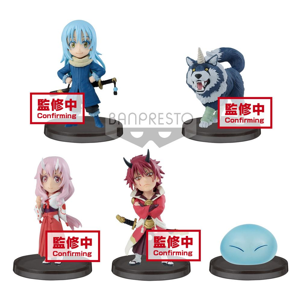 That Time I Got Reincarnated as a Slime WCF ChiBi PVC Statues 7 cm Assortment Vol. 1 (12)